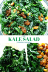 EASY KALE SALAD WITH LEMON DRESSING