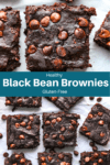 Easy Gluten Free Avocado Black Bean Brownies