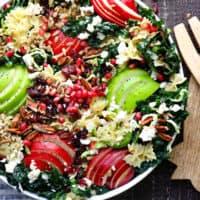 Amazing Autumn Crunch Pasta Salad
