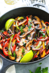 Easy Vegetarian Fajitas