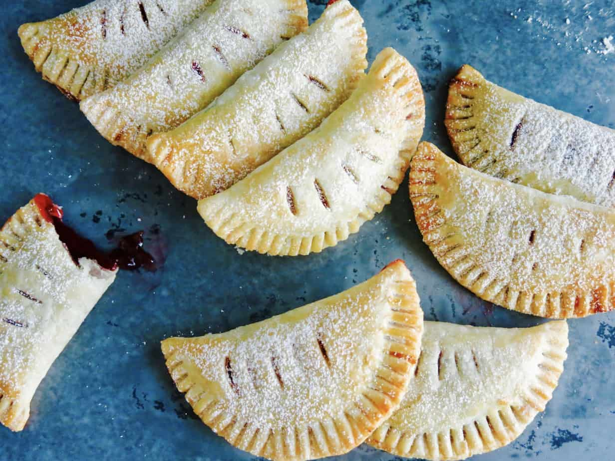 Three Ingredient Berry Empanadas