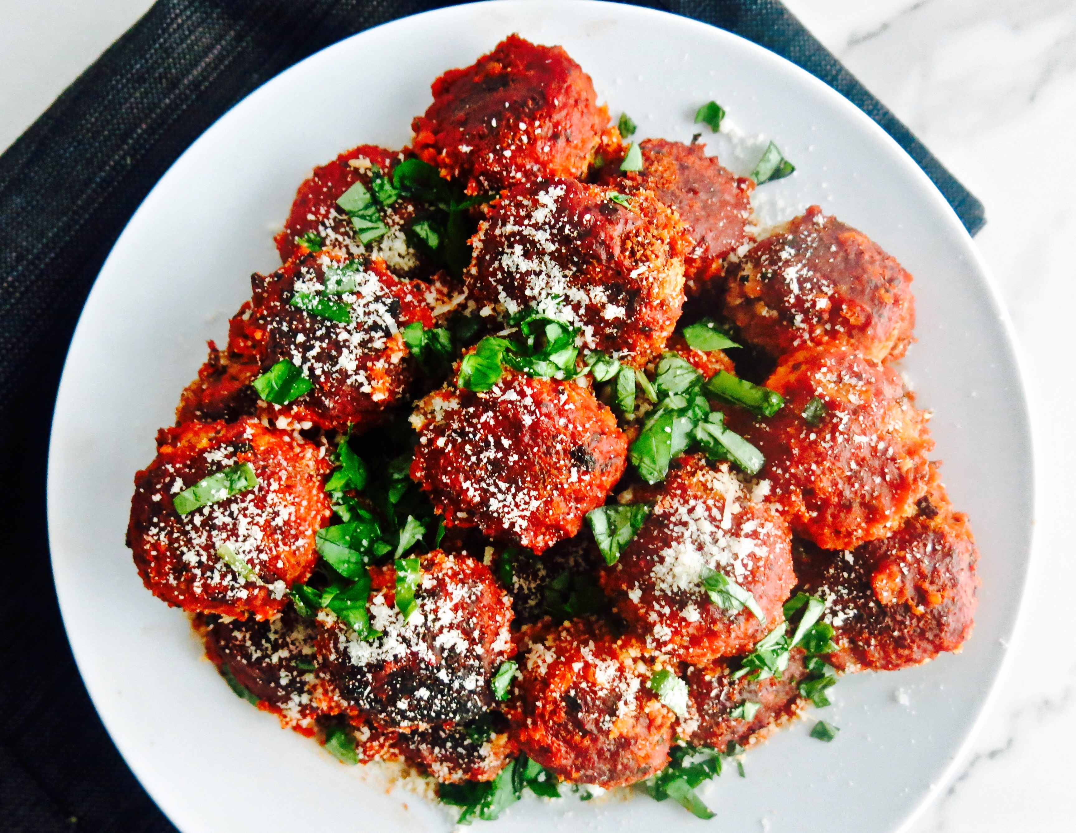 Incredible Vegetarian Neat Balls!!!
