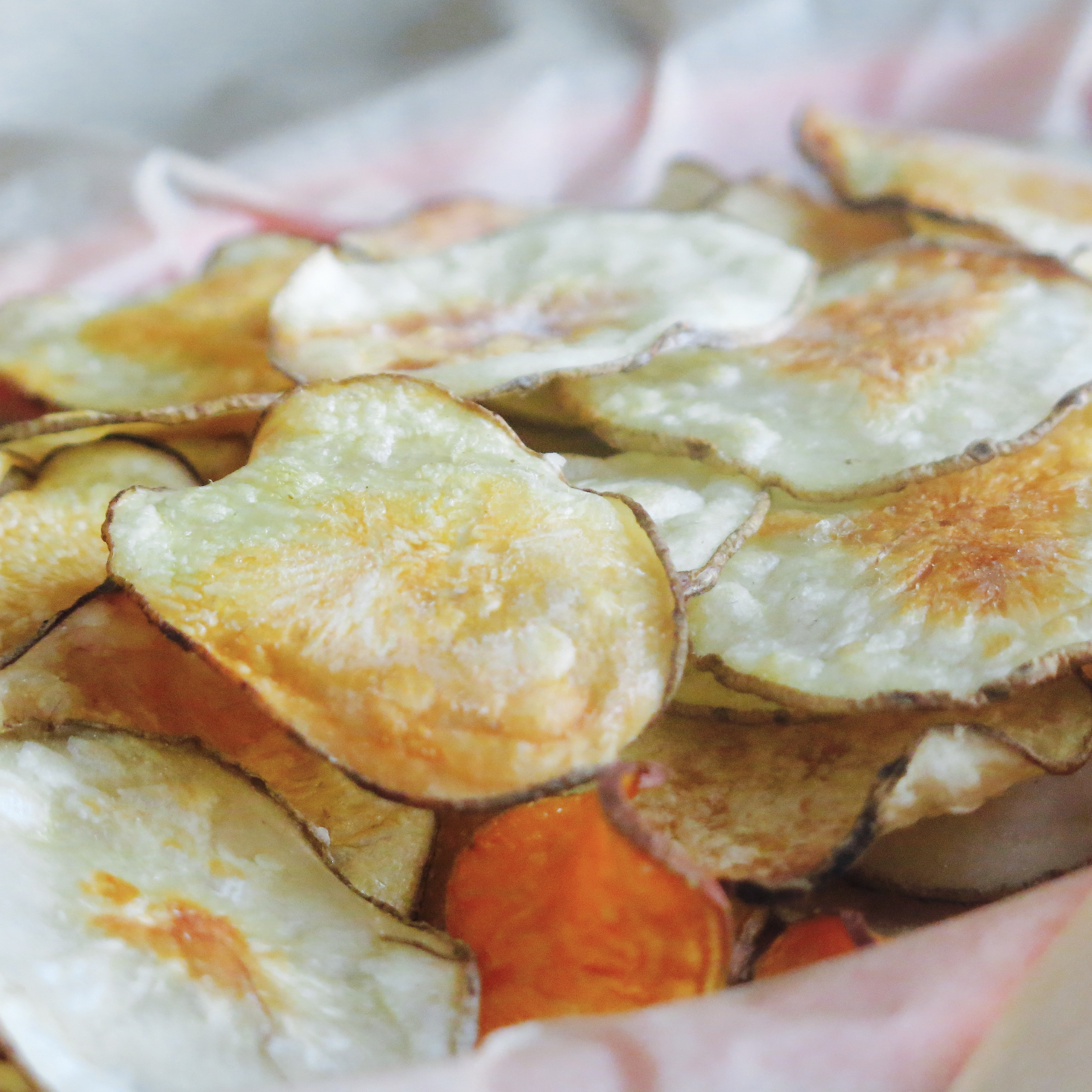 Amazing Baked Potato Chips!