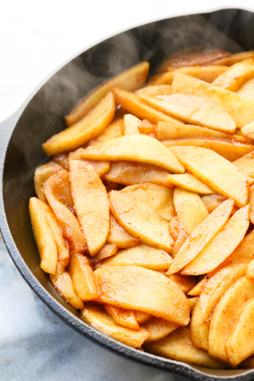 Gluten Free Dutch Oven Apple Crisp Pinch Me Good